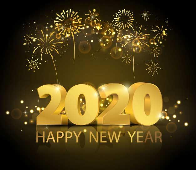 Καλή χρονιά, ευτυχισμένο το 2020!