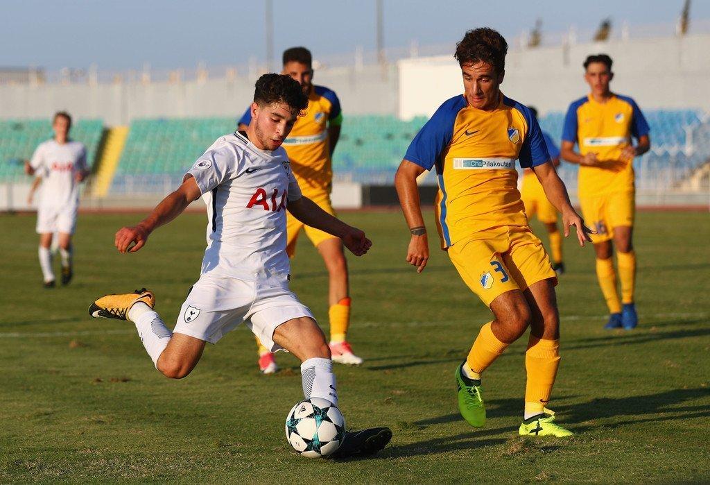 UEFA Youth League: «Δράκουλες» στο δρόμο του ΑΠΟΕΛ